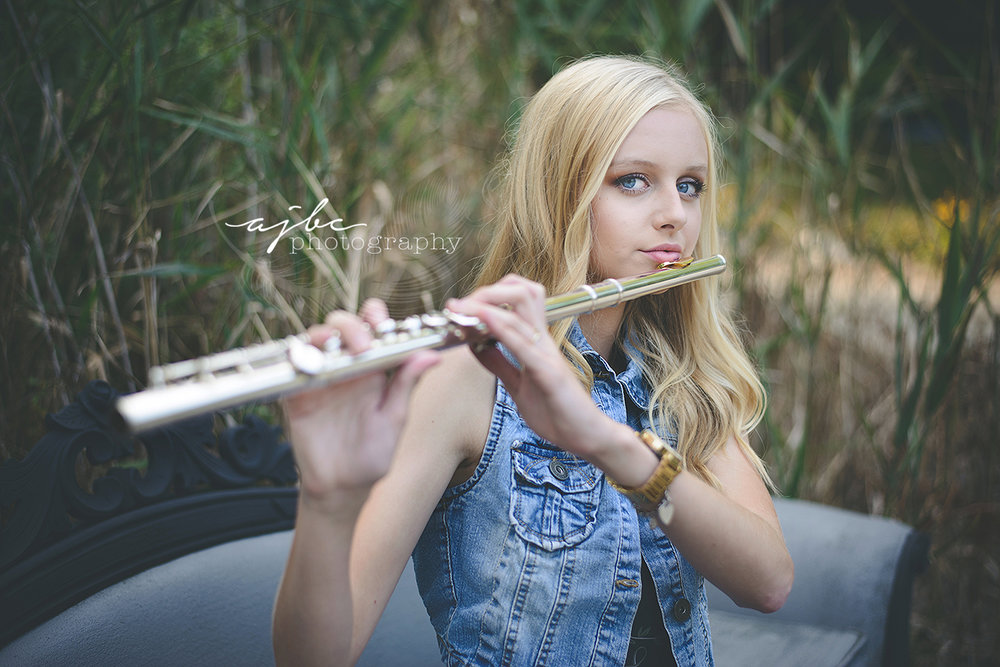 senior portraits with flute outdoor senior portraits boho fashion.jpg