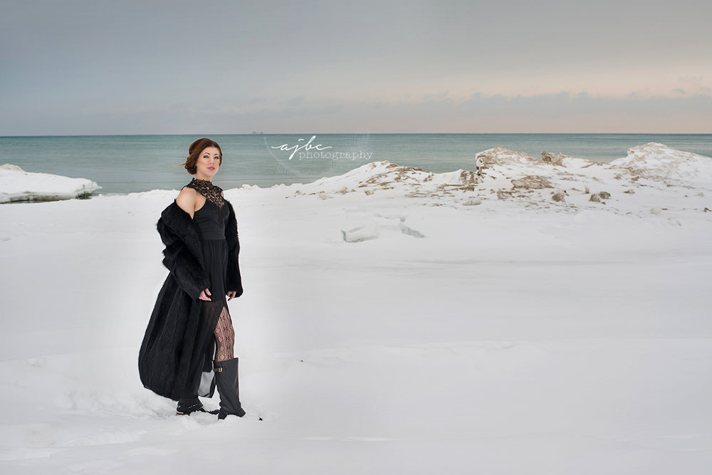 creative winter shoots michigan beauty photographer lake huron port huron michigan .jpg