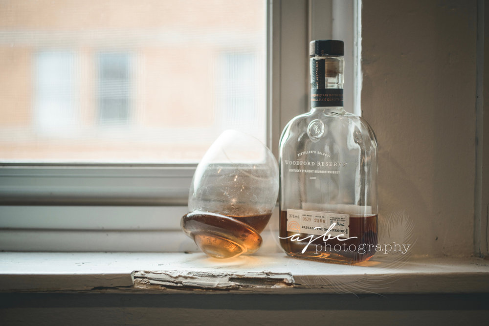 fun Boudoir whiskey photoshoot