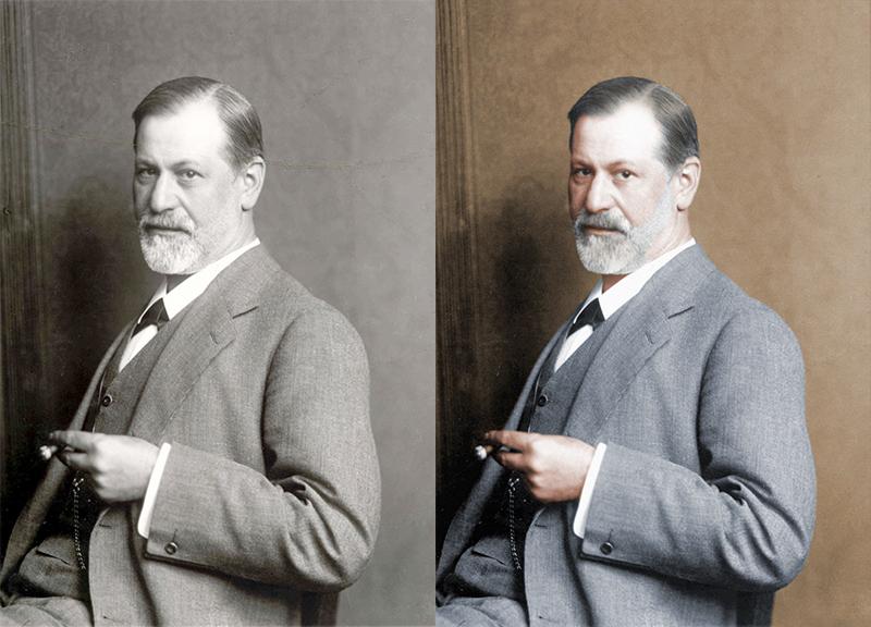 A modern looking Freud.