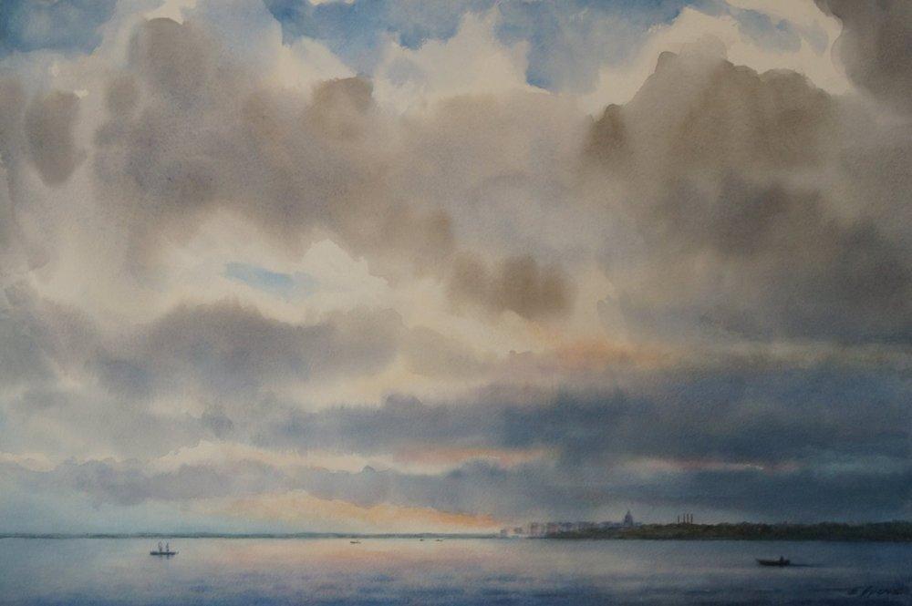 E Ivers_Rolling Clouds, Lake Monona.jpg