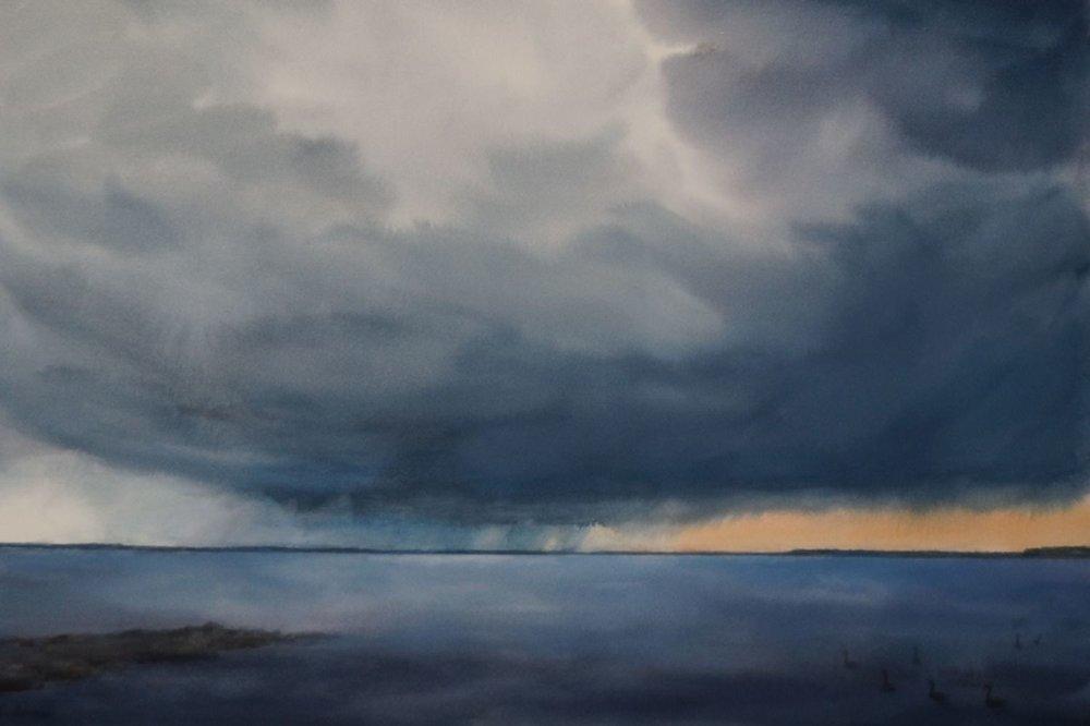 02_E Ivers_Distant Storm, Lake Mendota.JPG