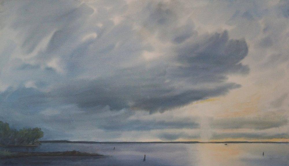 E Ivers_Shaft of Light, Lake Mendota.jpg
