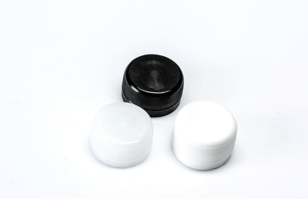 28mm PCO Natural, White, Black