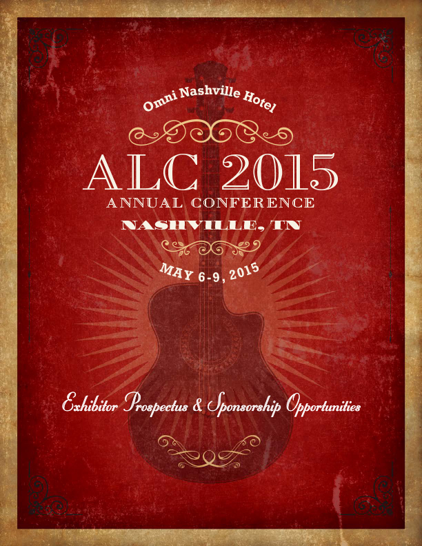 ALC 2015 Annual Conference Exhibitor Prospectus & Sponsorship Opportunities Brochure
