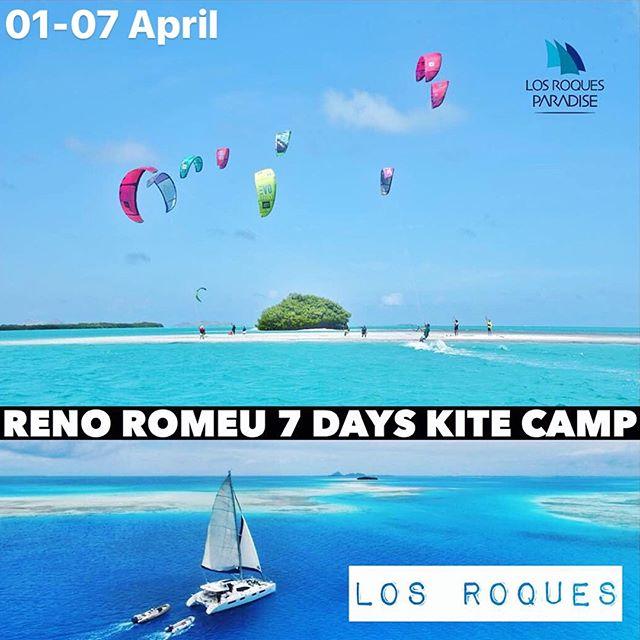Pro kiter @renoromeu is having the kite trip of a lifetime with @losroquesparadise ・・・ Do you wanna have the best kite trip of your life in this #paradise?? 01 - 07 of April E-mail renoromeu@globo.com for more info!! 🌴🌊 Você quer fazer a melhor kite trip da sua vida nesse #paraíso? 01 - 07 de Abril Envie um e-mail para renoromeu@globo.com para mais informações!  #KiteTrip #LosRoques #BoatLife #losroquesparadise