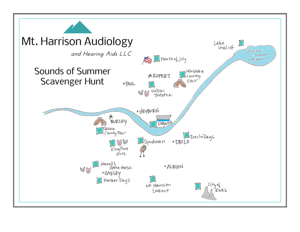mt harrison audiology scavenger hunt