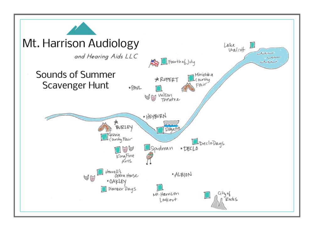 mt harrison audiology scavenger hunt