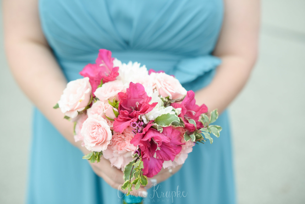 Spring wedding florals-Iowa