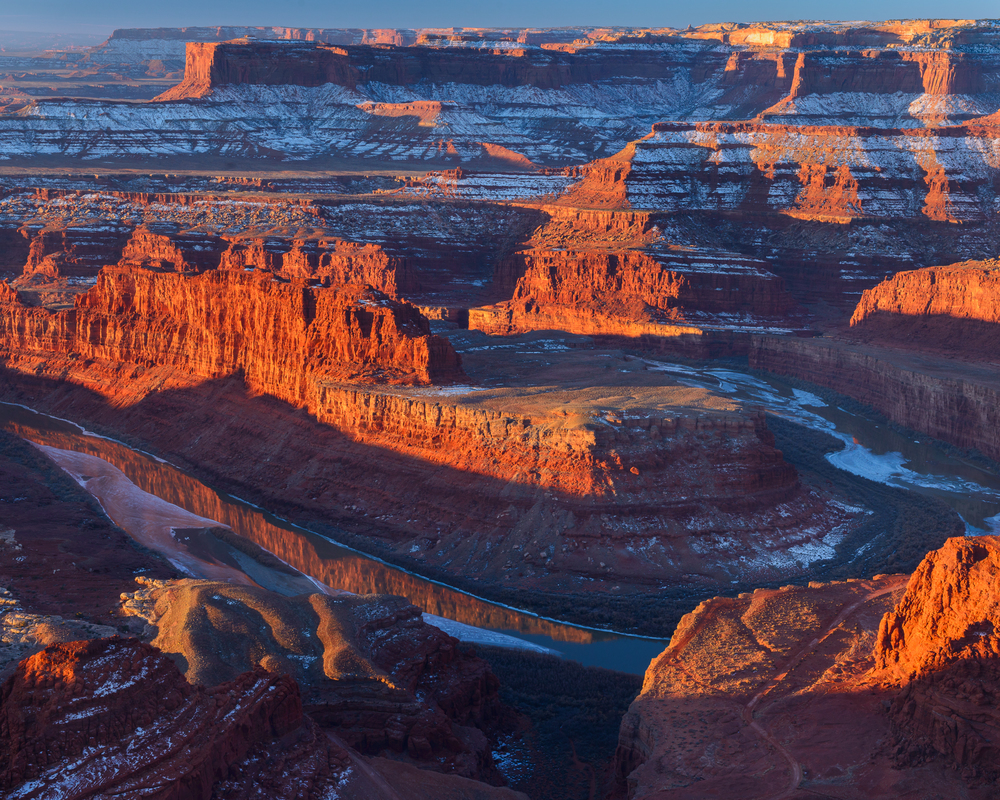 Sunrise from Dead Horse Point Sate Park