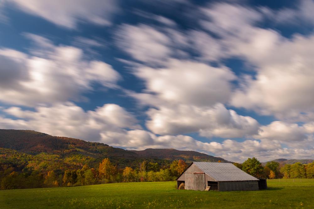 Autumn Barn, Laneville, West Virginia