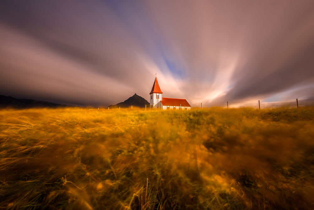 Church at Hellnar, Iceland