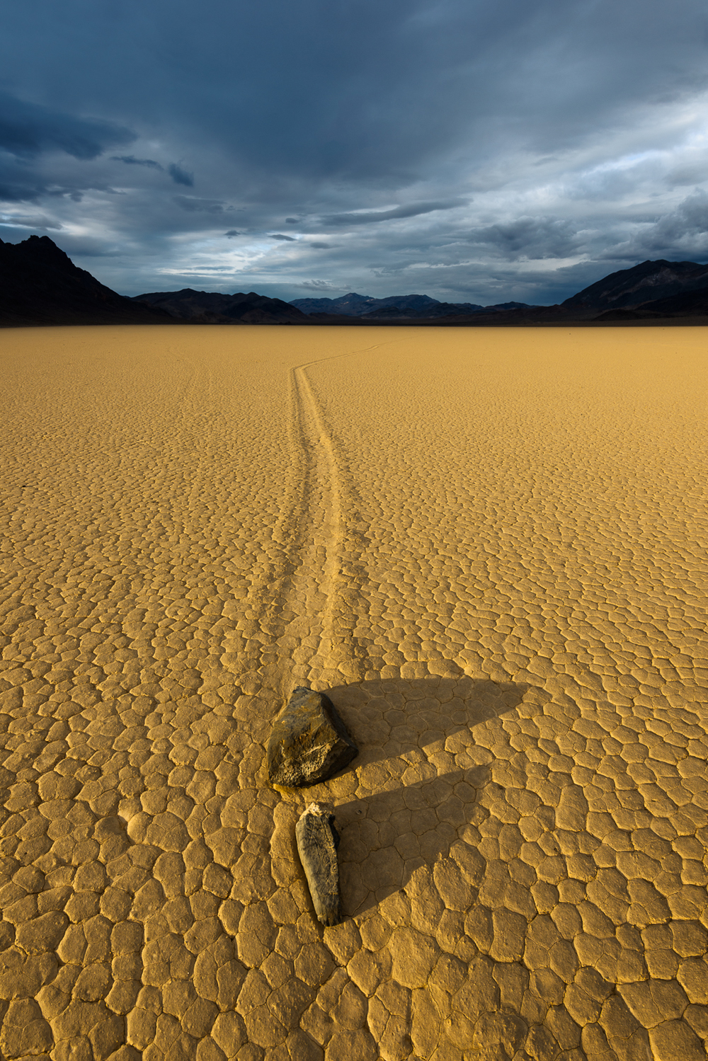 Sailstones, Racetrack Playa, Death Valley, CA