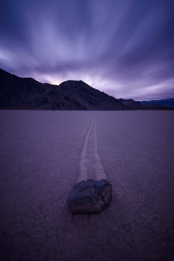 Timescape, Racetrack Playa, Death Valley, CA