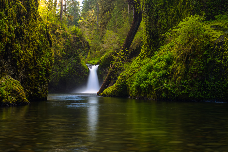 Punchbowl Falls, Eagle Creek, Columbia River Gorge, Oregon