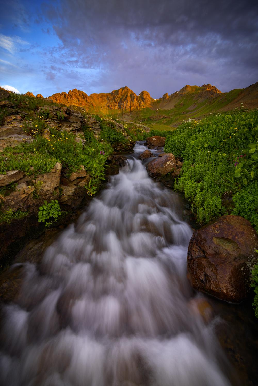 Waterfall in Clear Lake Basin