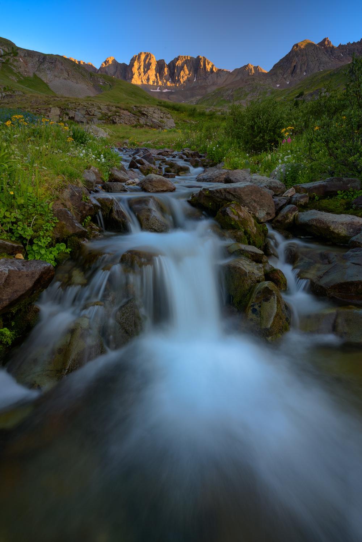American Basin Waterfall