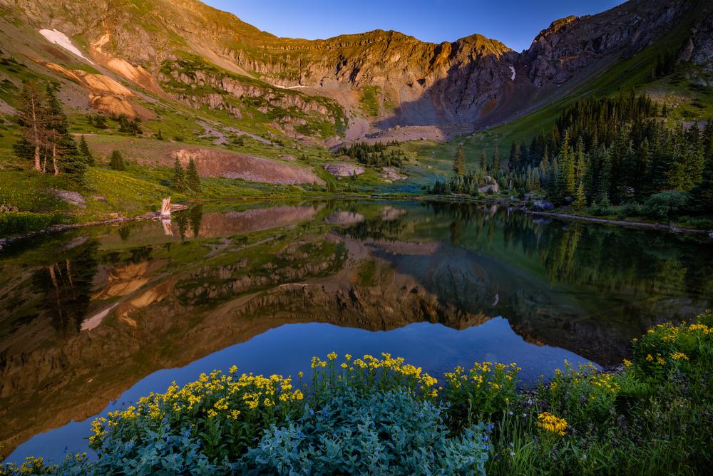 Gold King Basin Reflections