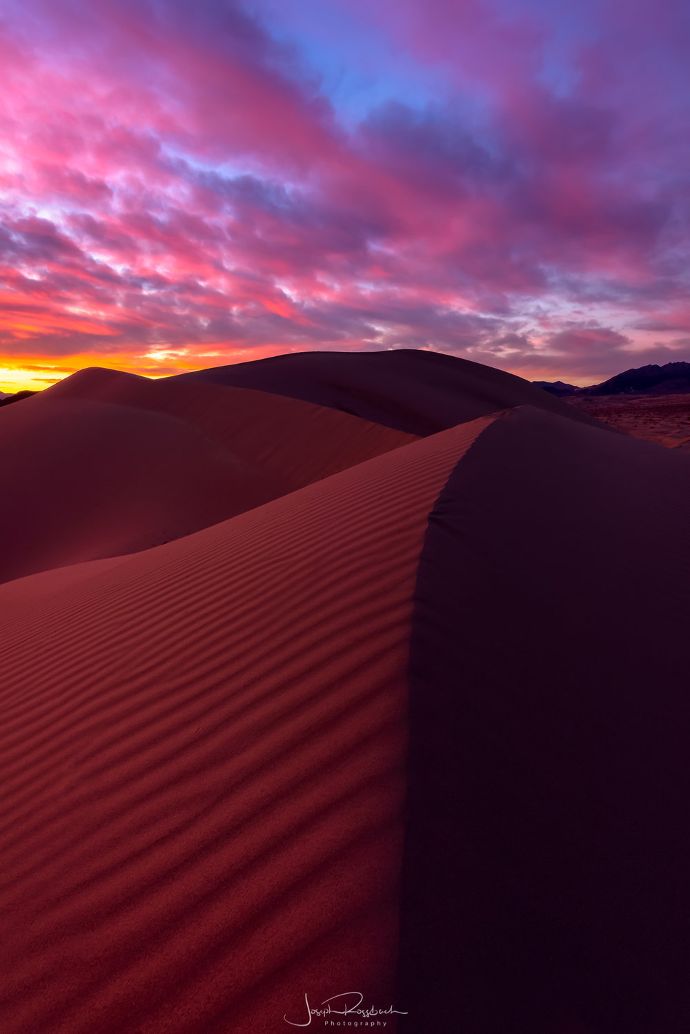 Sand Waves, Death Valley NP, California