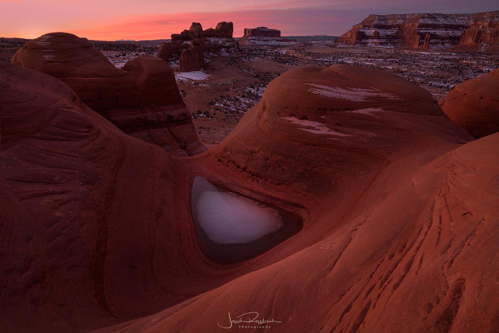 Teardrop Mesa, Moab, Utah