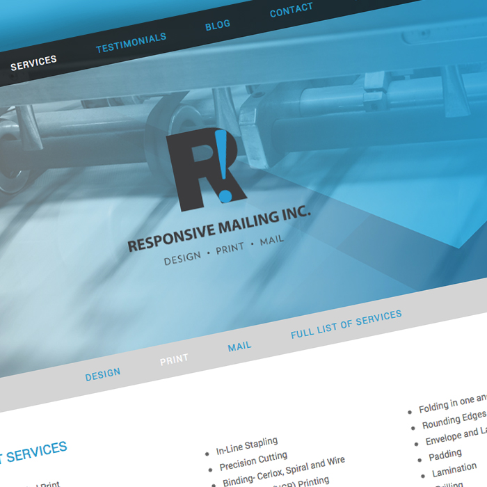 Responsive Mailing Inc.