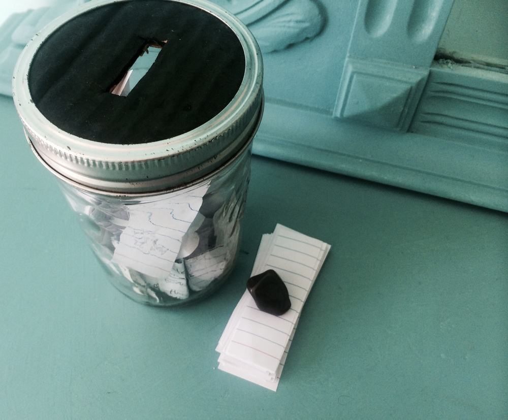 Gratefulness jar makes everything easier