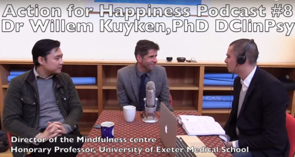 Podcast 52: Dr Willem Kuyken, director at the Oxford Mindfulness Centre When we talk about the science behind the rise of Mindfulness, it's the great work that is coming out of the Oxford Mindfulness Centre that is leading the way.  Globally, mental health is a one billion person problem and mindfulness can play a huge role in how society tackles this common issue.  Click on image for podcast