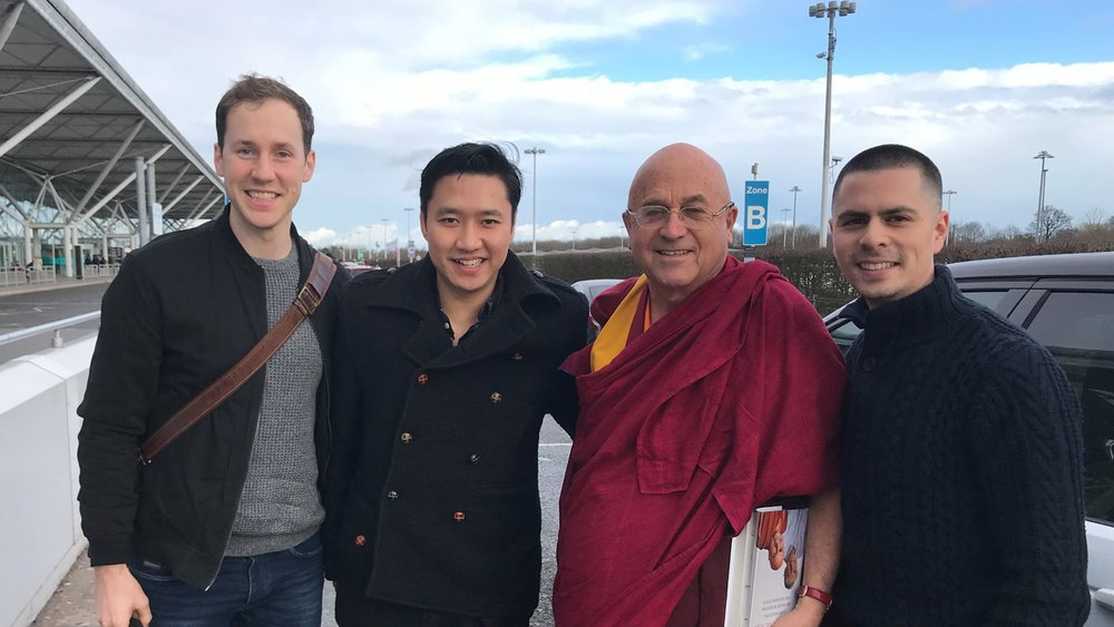 Podcast 64: Carpool podcast with Matthieu Ricard, London 2018    Nick-named the world's happiest man, monk, scientist and author,  Matthieu Ricard joins us for a ride and carpool podcast. We discuss Mindfulness within a Buddhist context, the concept of heartfulness, Descartes and the convenient illusion of the self. He translated for the Dalai Lama for over a decade and has written many best selling books.