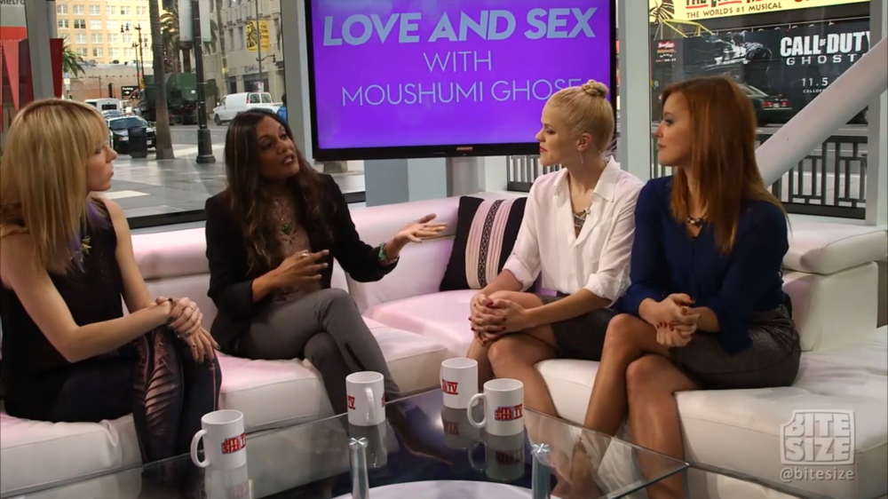 Sex & Love with Moushumi Ghose | The Girl Sot | BiteSIzeTV.com