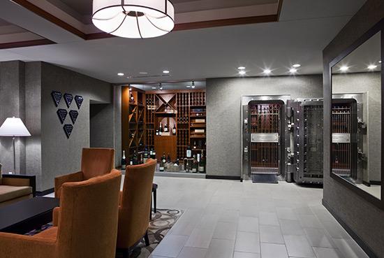 The Wine Vault.