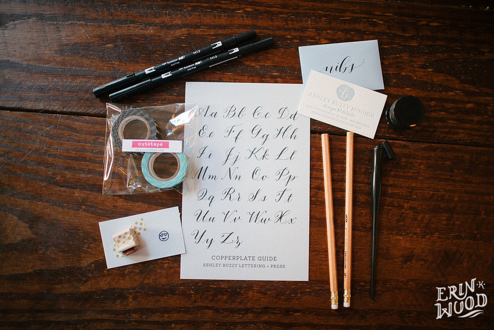 The First Ashley Buzzy Lettering Workshop Ashley Buzzy