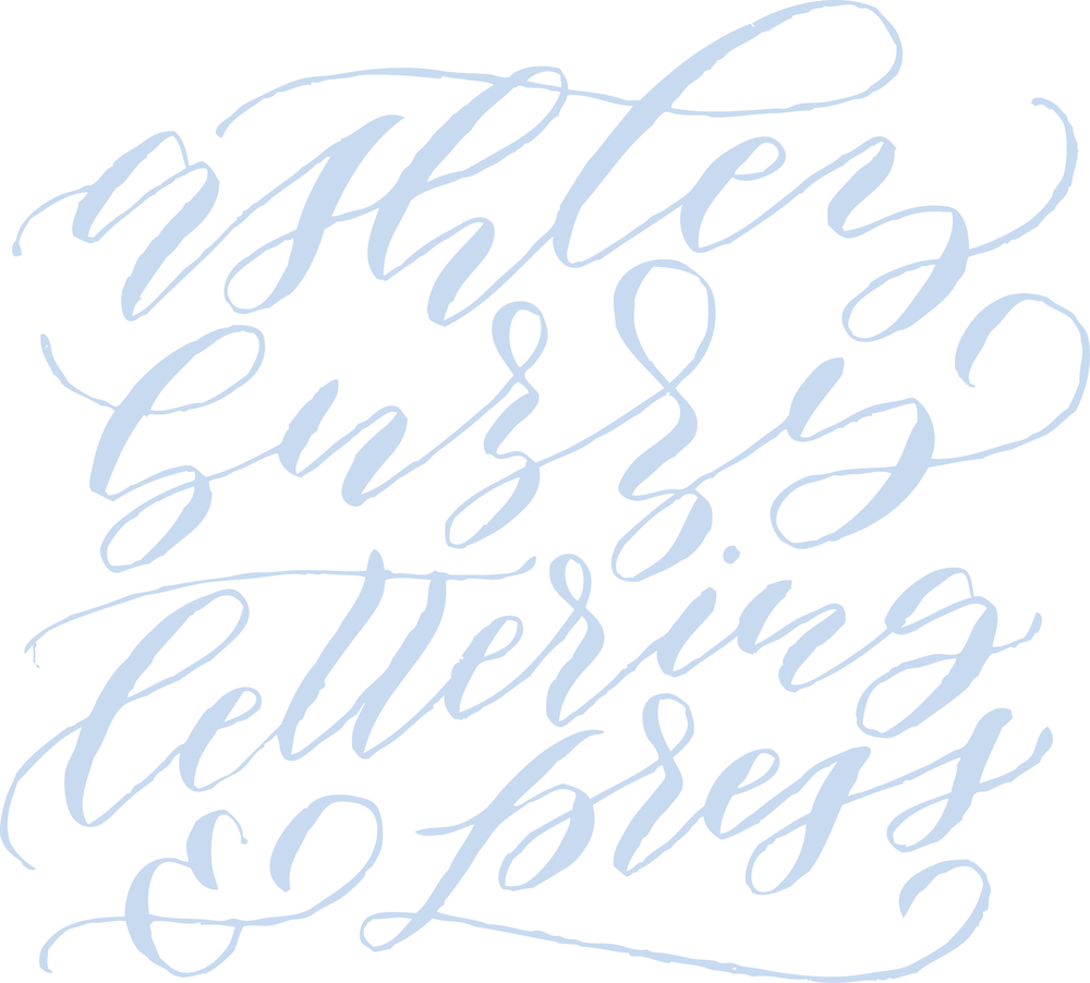 Ashley Buzzy Lettering + Press