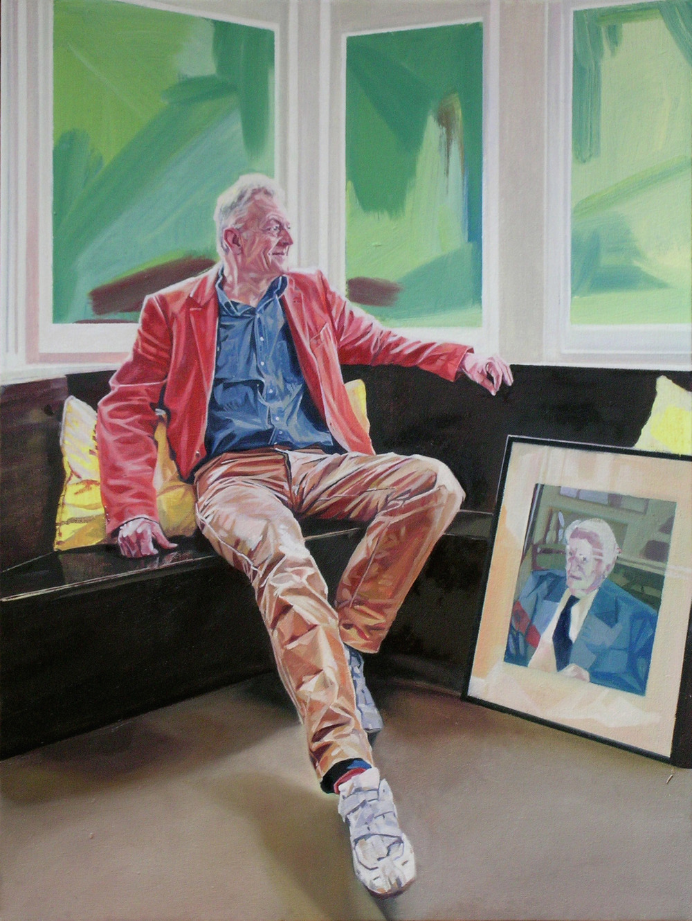 David, 2009, oil on canvas, 24 x 18in.