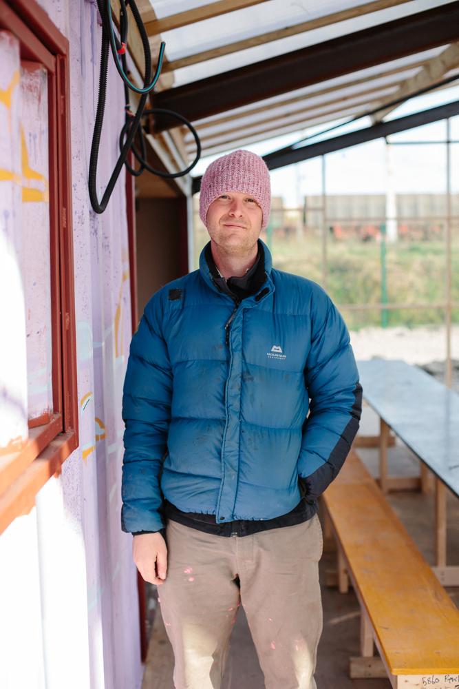 Richard, 37, Devon    Carpenter volunteering in Dunkirk Camp for 5 days