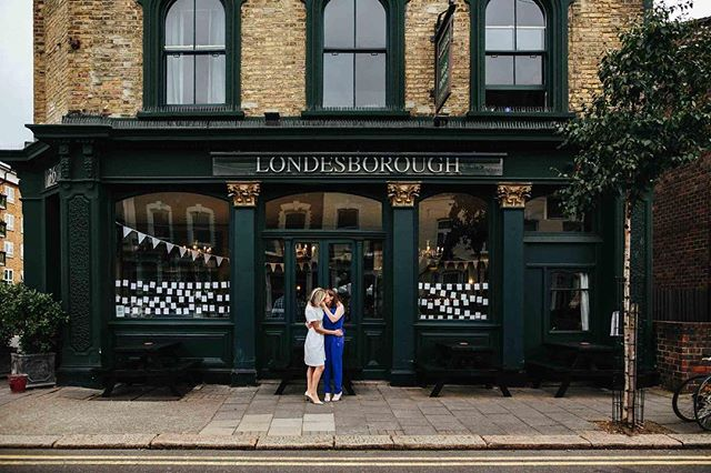 Delighted to see Alice and Sinead's wedding up on the Rock My Wedding @rockmywedding blog today!  A very intimate London wedding at Islington Town Hall @sayidoislington and @thelondesborough.  Gorgeous bunting by @emmabuntinguk - link in my bio for the full blog post 💥🌈 .⠀ .⠀ .⠀ #altwedding #shesaidyes #weddinginspiration #weddingbunting #weddinginspo #bohemianwedding #islingtonwedding #thelondesborough #pubwedding #rockmywedding #stokenewington #quirkyinteriors #emmabunting #weddingphotographer #londonwedding #londonweddingphotographer #modernbride #gaywedding #lookslikefilm #instawed #londonweddingphotography⠀