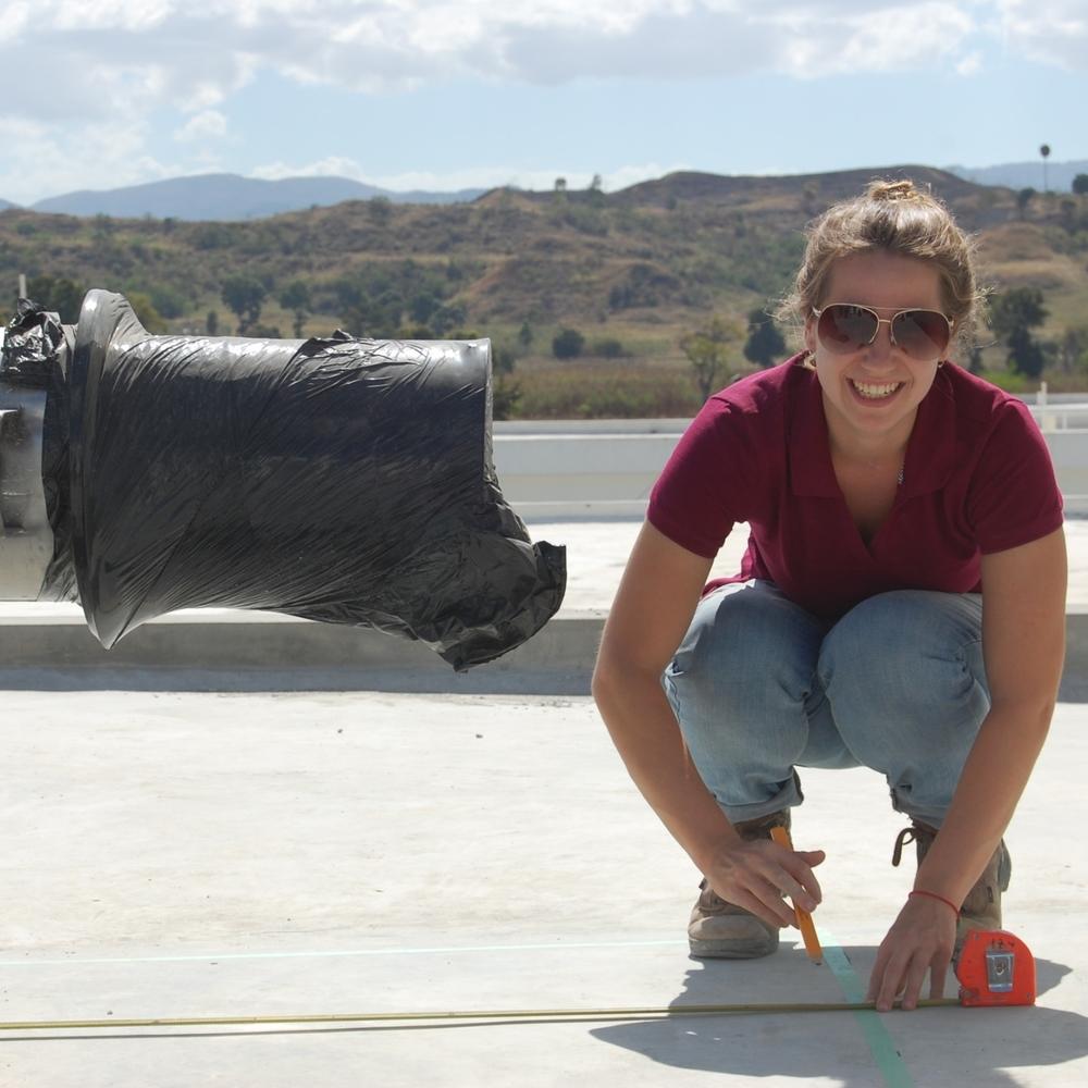 Elizabeth Cherchia, Project Engineer & Construction Site Manager