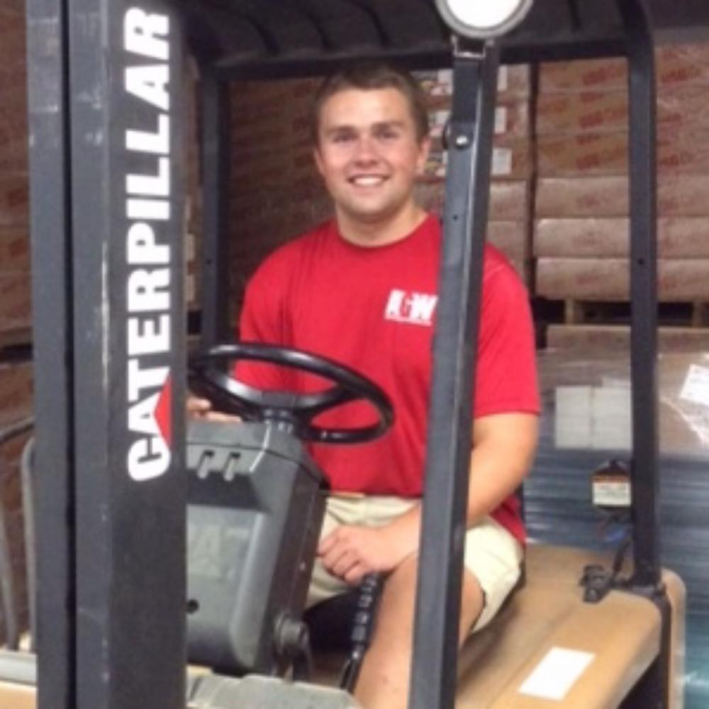 Joe Dubinski, Assistant to Warehouse Coordinator