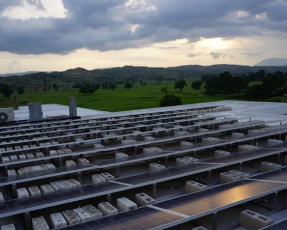 Solar Panels at University Hospital