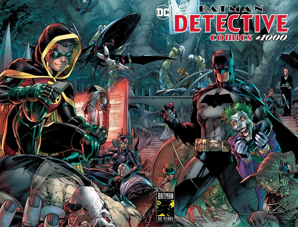 A. Detective Comics #1000 Regular Cover by Jim Lee -