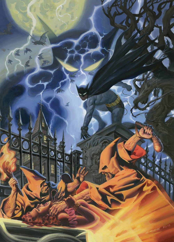 B. Detective Comics #1000 1930's Variant by Steve Rude -