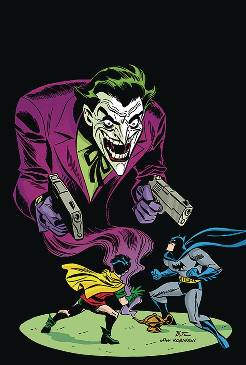 C. Detective Comics #1000 1940's Variant by Bruce Timm -