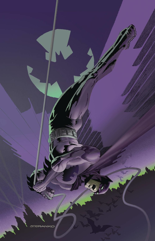 E. Detective Comics #1000 1960s Variant by Jim Steranko -