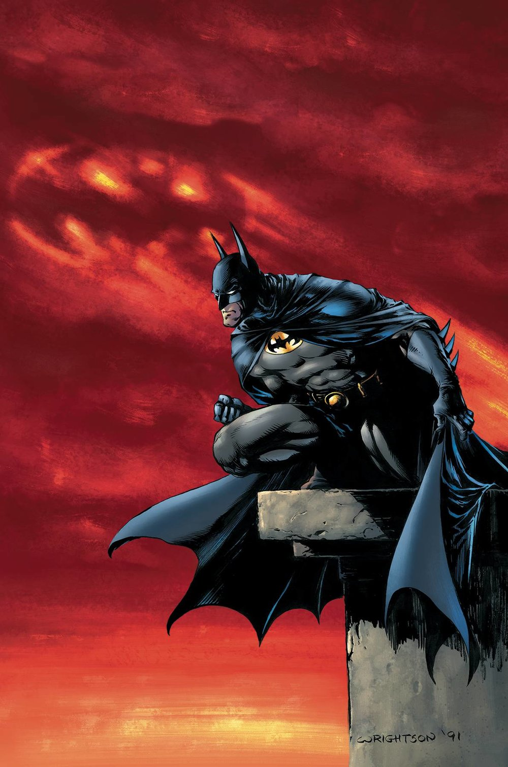 F. Detective Comics #1000 1970s Variant by Bernie Wrightson -