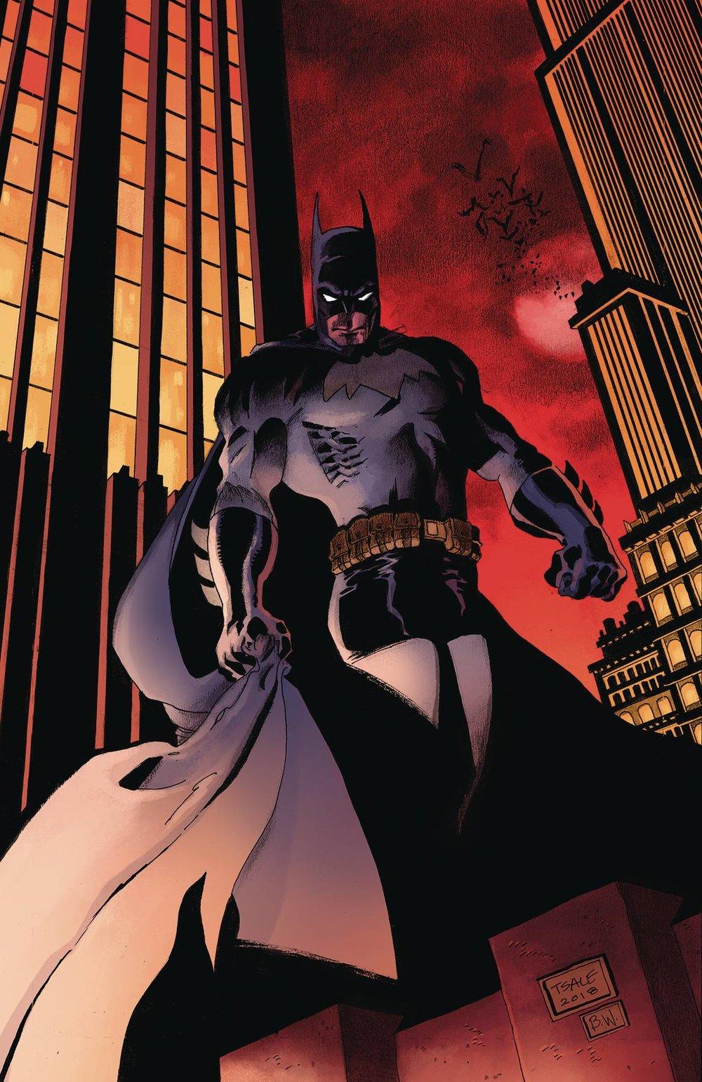 H. Detective Comics #1000 1990s Variant by Tim Sale -