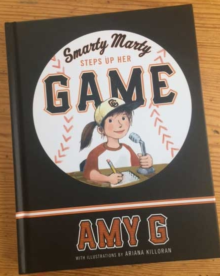 Smarty Marty Steps Up Her Game, by Amy Gutierrez
