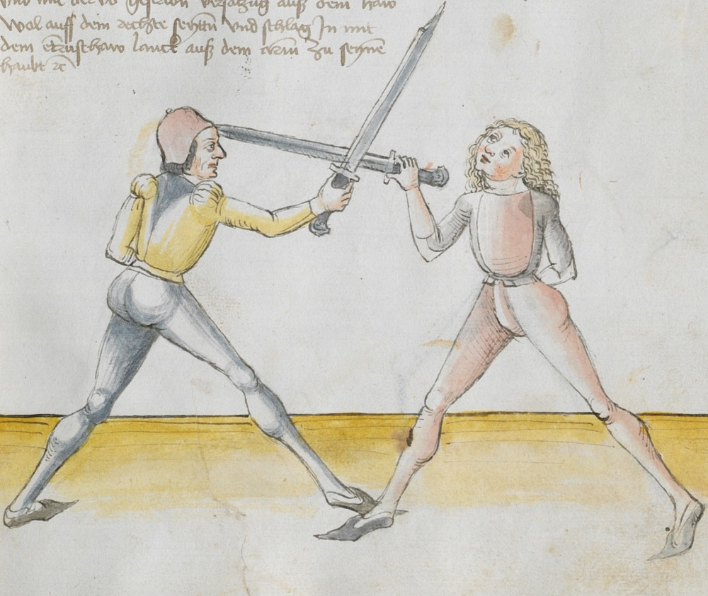Entrushaw illustration from Lecküchner (Cgm 582, f 25r)