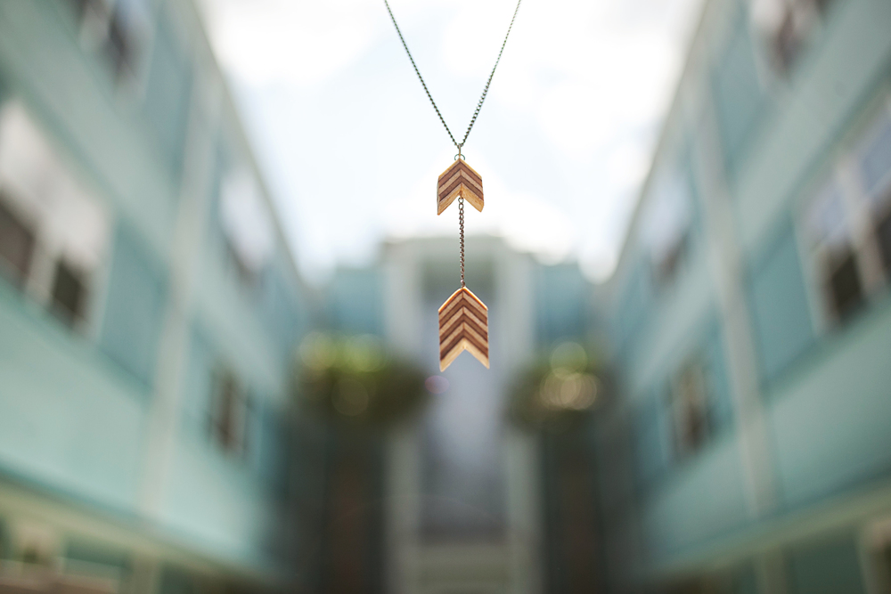 Double Arrow Necklace