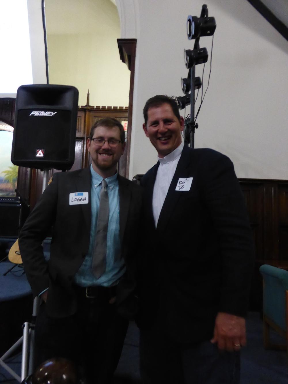 Logan Keck, CTK JP/Roxbury Pastor, and Dan Rogers, CTK Dorchester Pastor