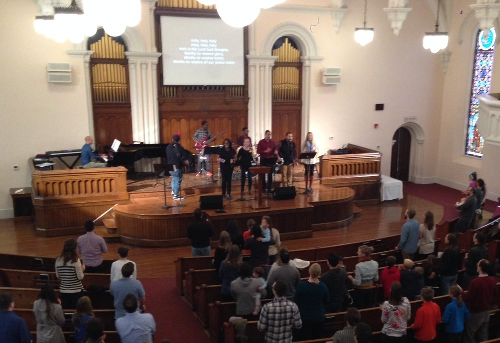 CTK/Grace All Church Worship Service in Cambridge