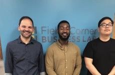 CTKers Omar, Julian and Moses work at FCBL.